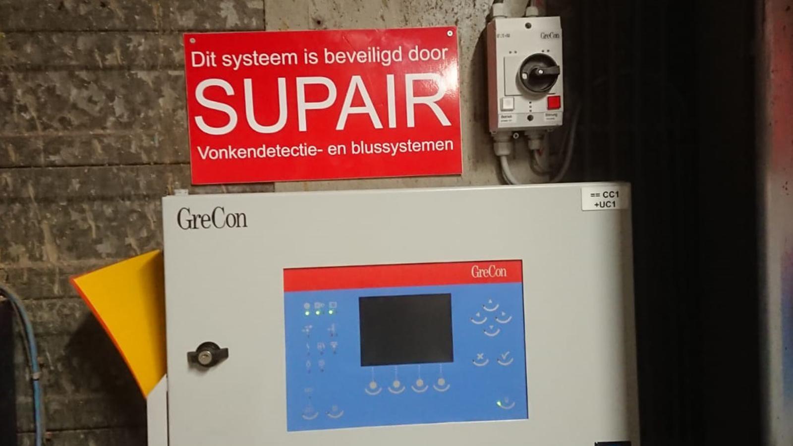 Project - Danis - Vonkendetectie - Blusautomaat
